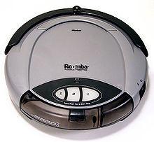 Первый робот-пылесос Roomba 2002 года